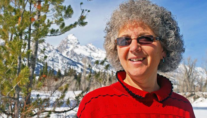 Sue Consolo-Murphy speaks about grizzly bear management at our July 3 Lunchtime Expedition.