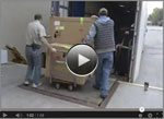 Video: Time lapse of loading truck bound for the High Museum of Art