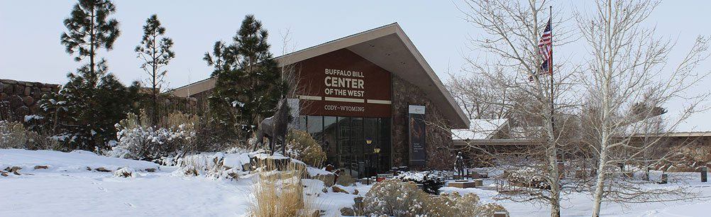 The Buffalo Bill Center of the West in winter. Photo by Nancy McClure.