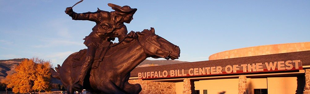 "Peter Fillerup's ""Bill Cody, Hard and Fast All the Way."" Gift of Bill and Diane Shiebler. 14.11"