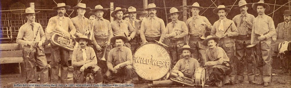 Buffalo Bill's Wild West Cowboy Band. P.69.1143