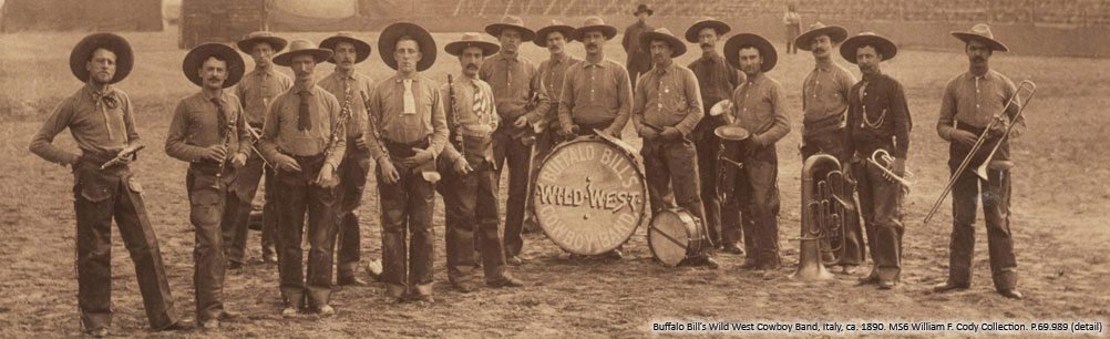 Buffalo Bill's Wild West Cowboy Band. P.69.989