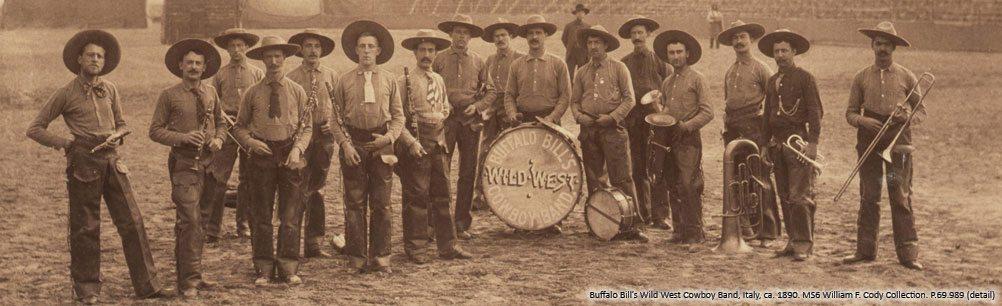 Buffalo Bill's Wild West Cowboy Band. P.69.989