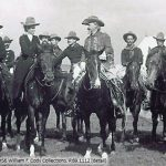 Buffalo Bill with cowboys and cowgirls of Buffalo Bill's Wild West. P.69.1112