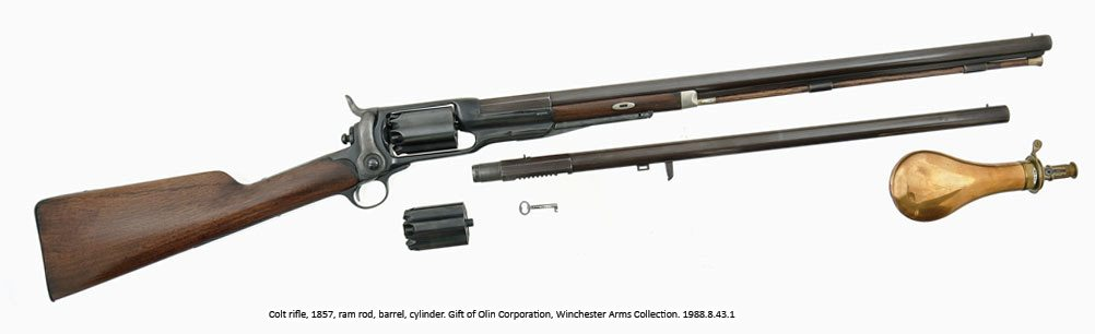 Colt rifle, 1857. 1988.8.43.1