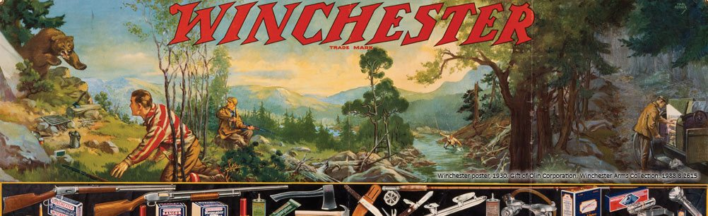 Winchester poster, 1930. 1988.8.2615