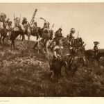 Edward Curtis's 'Oglala war-party,' Plate 77 of 'The North American Indian'