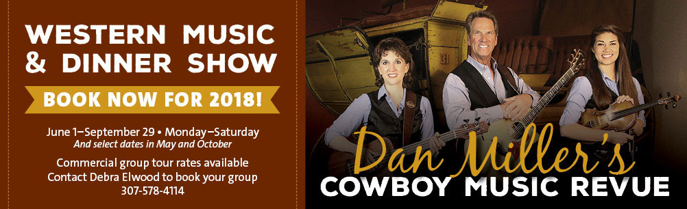 Dan Miller's Cowboy Music Revue: Book your Group Tour now for 2018!