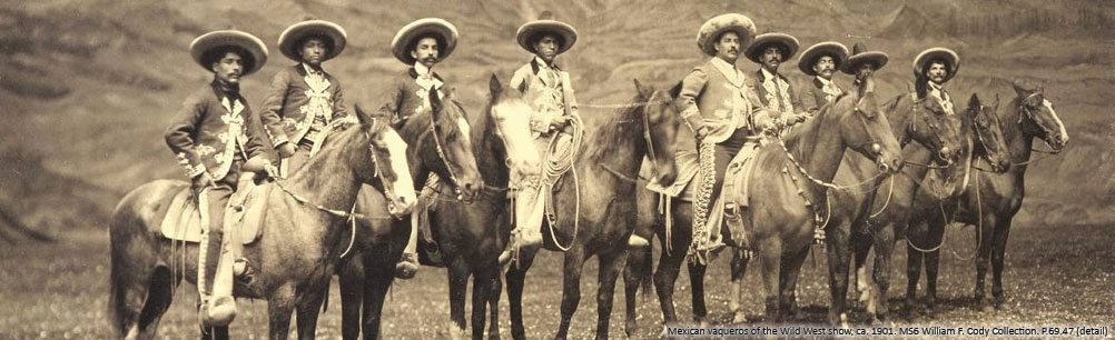 Mexican vaqueros of Buffalo Bill's Wild West. P.69.47