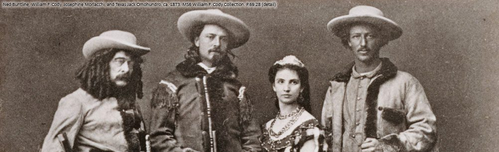 The Buffalo Bill Combination, ca. 1873. P.69.28