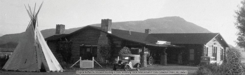 Original Buffalo Bill Museum building, 1929. P.69.1382_306