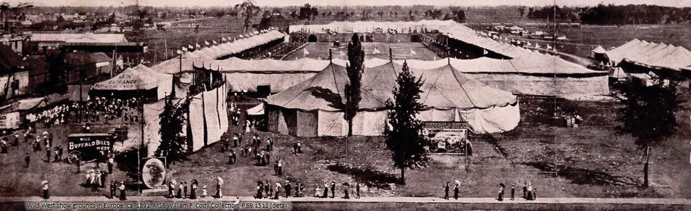 Wild West show grounds in Europe. P.69.1512
