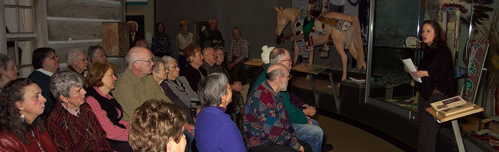 Program in the Plains Indian Museum