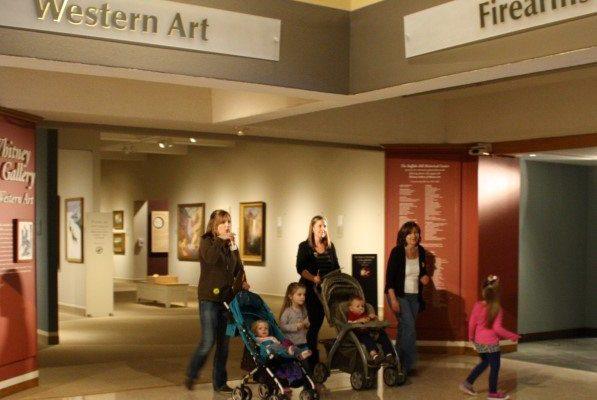 Families enjoy the Buffalo Bill Center of the West