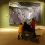 Families look at art in a whole new way
