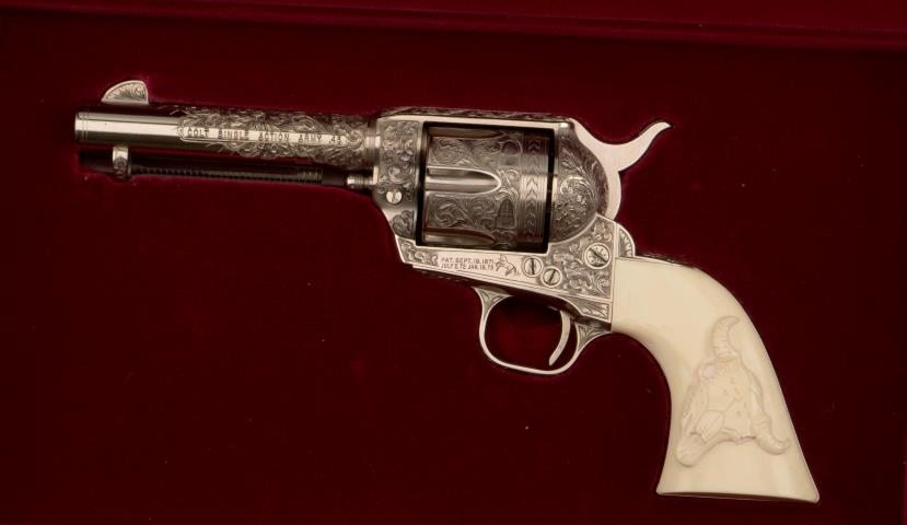 Lone Ranger's Colt Single Action Army Revolver; 2013.9.1