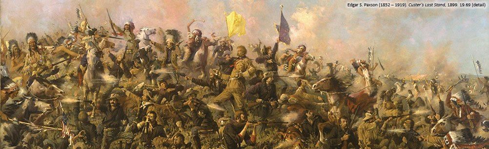 Edgar S. Paxson's 'Custer's Last Stand,' 19.69