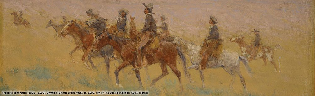 Frederic Remington's 'Ghosts of the Past,' 60.67