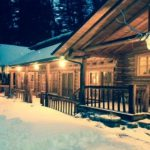 Shoshone Lodge in the Snow