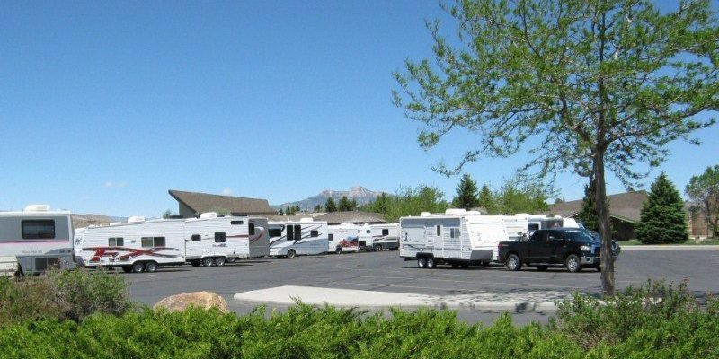 Buffalo Bill Center of the West RV lot