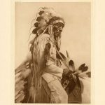 Edward S. Curtis's 'The Old Cheyenne,' Plate 672