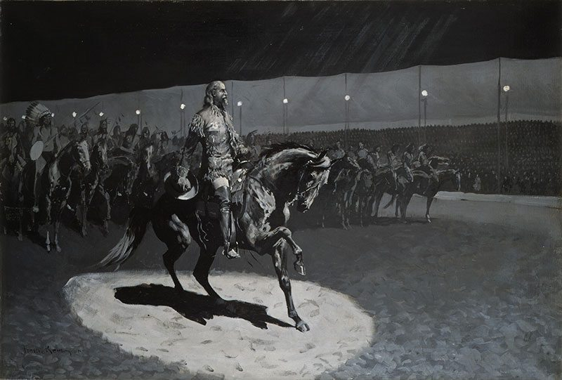 "Frederic Remington's ""Buffalo Bill in the Limelight."" 23.71"