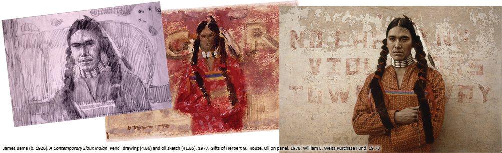 James Bama's 'A Contemporary Sioux Indian,' 19.78