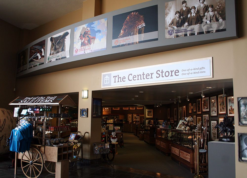 Buffalo Bill Center of the West members enjoy discount shopping with a 20 percent discount in our Center Store and online stores May 4 and 5, 2019.