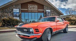 2014 raffle car: 1970 Ford Mustang Mach 1