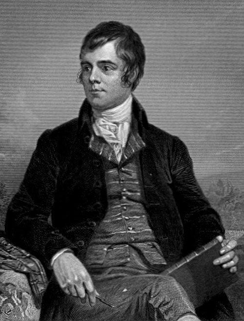 Robert Burns, 1787. Wikimedia Commons.