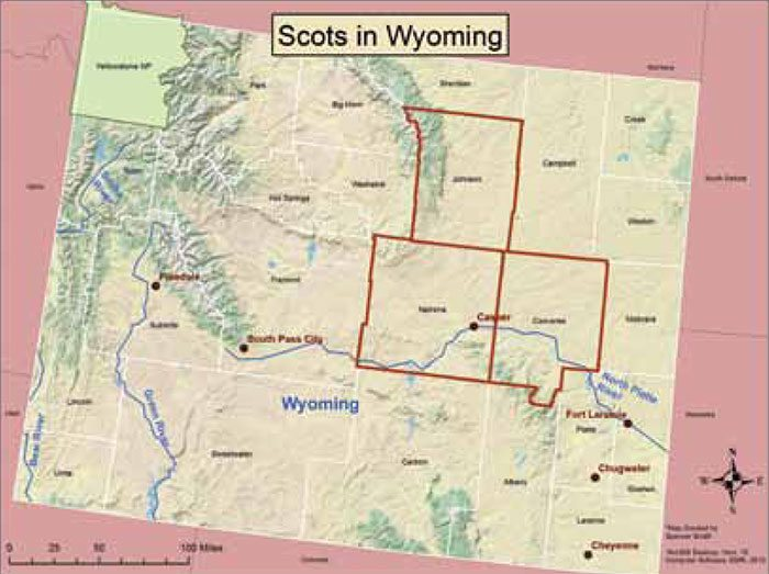 PW blog 005: Scots in Wyoming map - Buffalo Bill Center of