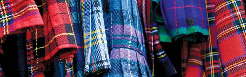 Scots in the West: plaid