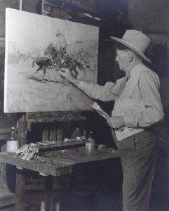 Frank Tenney Johnson studio portrait. P.72.191