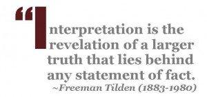 Museum Interpretation: Freeman Tilden