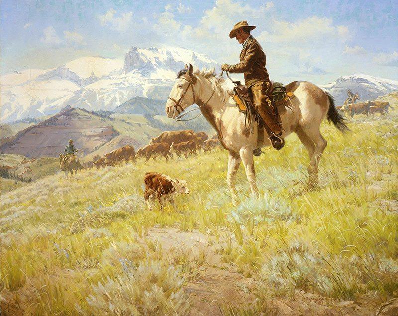 """Robert William Meyers (1919-1970). """"The Littlest Rebel."""" Gift of Margaret H. Skoglund. 14.84"""