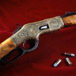 Detail of World's Fair rifle. 1988.8.3283