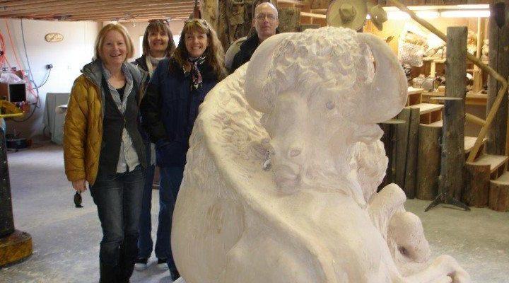 Jeff, Ann Marie, Shelly, Robin, and Buffalo