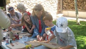 Garden activities: games @ Center of the West's gardens | Cody | Wyoming | United States
