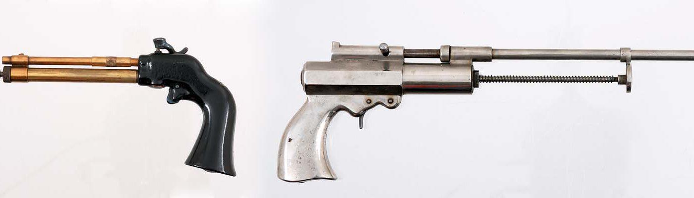 Air guns. 1988.8.951 & 1993.8.61