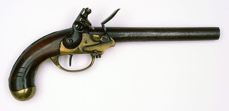 North & Cheney Model 1799 Flintlock Pistol First Contract. 1988.8.249
