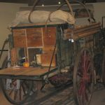 Chuck Wagon with box open to display contents