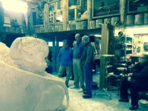 Jeff Rudolph, John Giarizzo and Matt Jackson view WPH Buffalo