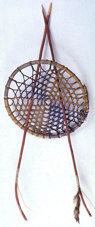 A Treasure from Our West: Hoop and arrow game. NA.503.5A-C