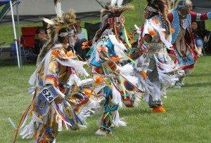 Men's Grass Dance. Photo by Ken Blackbird.