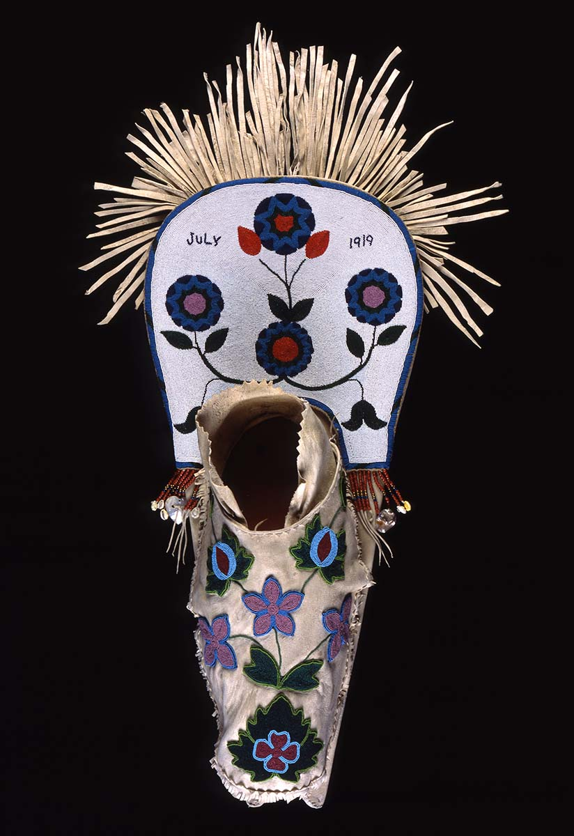 Salish Cradle, 1919.  34.5 x 15 inches. Simplot Collection. Gift of J.R. Simplot, NA.111.57