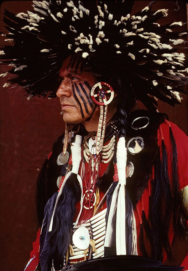 "Ken Blackbird's ""Gordon Tootoosis, Ft. Belknap, Montana, 1986. P.426.02603"