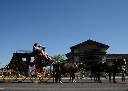 2014 Stampede Parade: A stagecoach is a must!