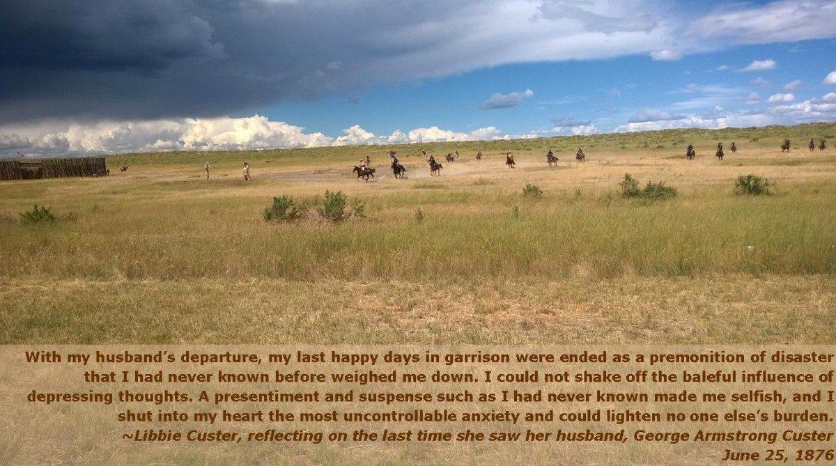 Custer Battle Reenactment, 2014