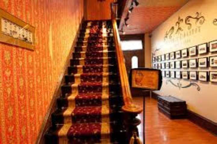 St James Hotel Staircase