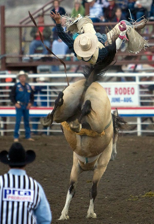 """Rodeo. Photo by Ken Blackbird, one of the photographs featured in """"Textured Portraits: The Ken Blackbird Collection,"""" a special exhibition from 2014."""